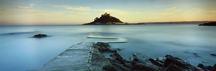 St Michaels Mount by David Noton for the National Trust