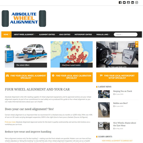Absolute Wheel Alignment