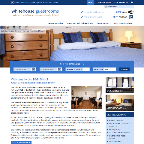 Whitehouse Guestrooms